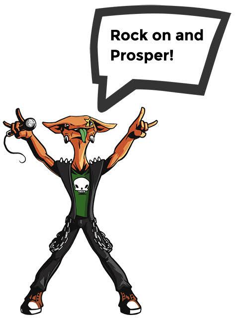 Musician Monster - Rock on and prosper!