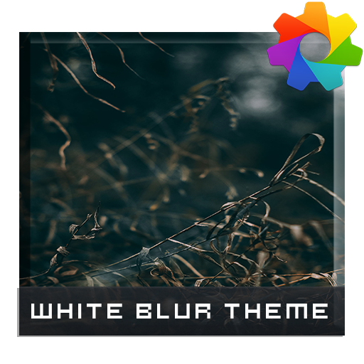 White Blur Theme For Xperia
