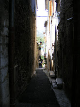 Photo: Looking down one of the narrow Old Town lanes.