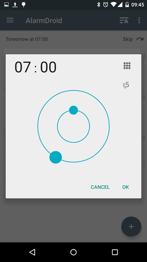 AlarmDroid (alarm clock) - screenshot