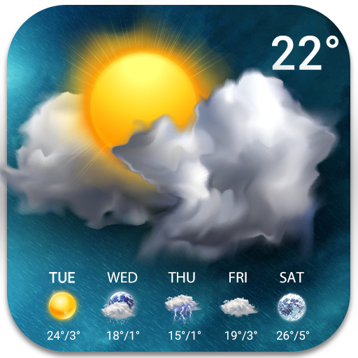 Temperature&Live Weather free