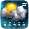 Temperature&Live Weather free rainy weather icon