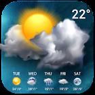 天氣預報桌面中文版台灣,天氣氣象小工具,全臺天氣和國際氣象 icon