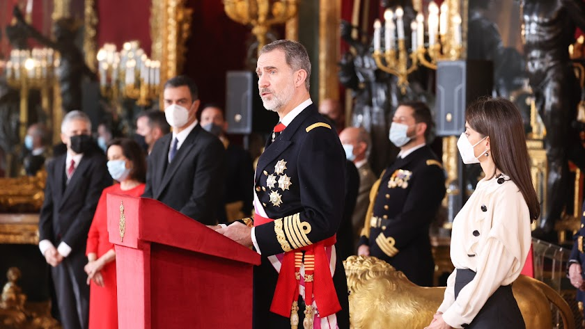 Intervención del Rey en la Pascua Militar (Foto: Casa Real)