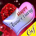 Happy Anniversary GIF icon
