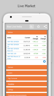 Download Bse India Live For PC Windows and Mac apk screenshot 1