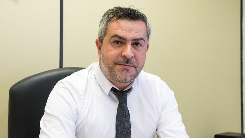 Juan Antonio Lorenzo, portavoz del PSOE en la Diputación.