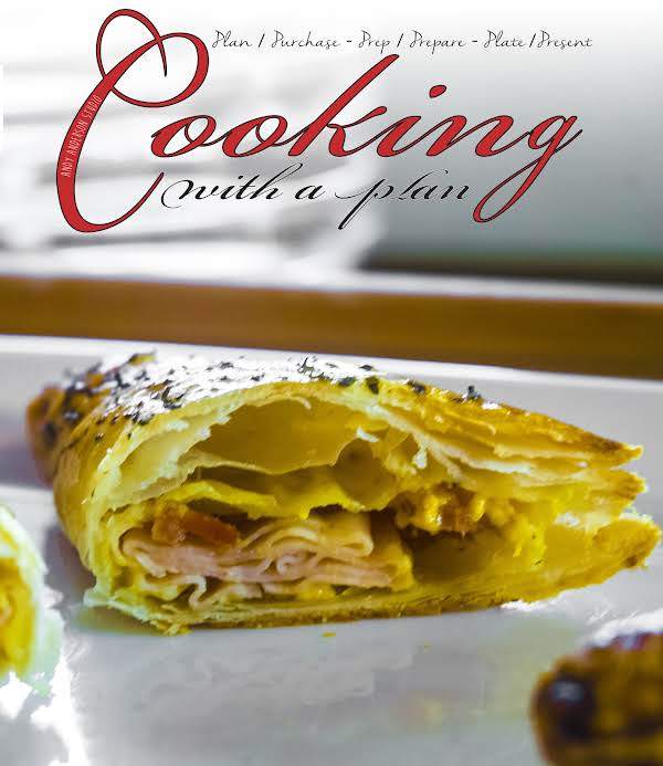 Turkey, Bacon & Cheese Puff Pastry Recipe