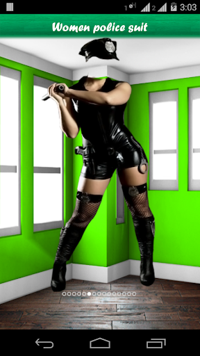 玩攝影App|Women police suit免費|APP試玩