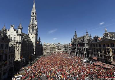 ? Suivez le parcours des Diables Rouges à Bruxelles en live