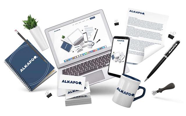 Alkapgo Logo Tasarım - Özgün Logo Tasarım