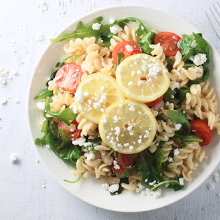 Gluten Free Arugula Pasta Salad
