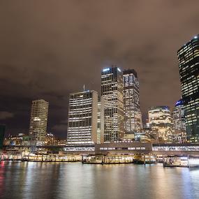 Circular Quay by Scott Thiel - Buildings & Architecture Office Buildings & Hotels ( water, australia, harbour, circular quay, sydney,  )