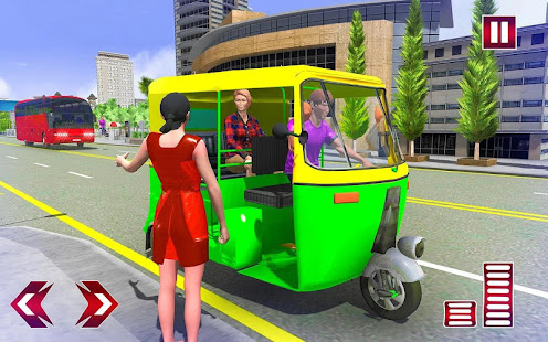 Download City Tuk Tuk Rickshaw Simulator For PC Windows and Mac apk screenshot 1
