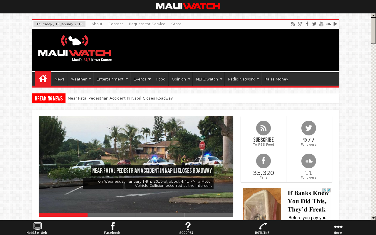 MAUIWatch- screenshot