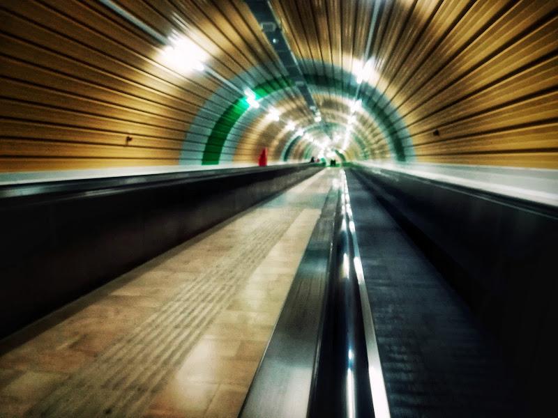 Nel tunnel di Monic