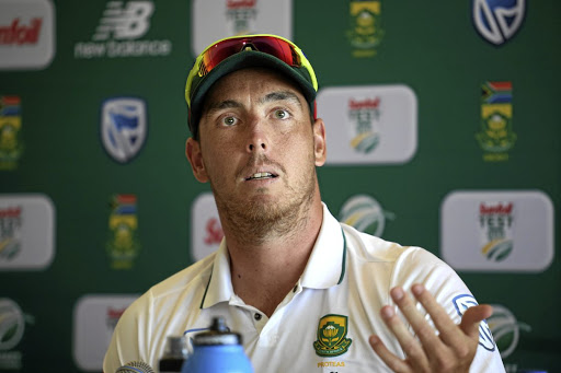 Sticky wicket: Kyle Abbott denies that his commitment was in question against Sri Lanka. Picture: LUKE WALKER/GALLO IMAGES