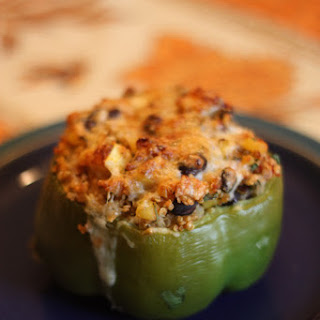 Quinoa and Veggie Stuffed Peppers.
