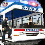 Police Bus Criminal Transport Icon