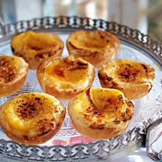 Pastéis de nata (Vanilletörtchen)