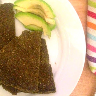Raw Vegan Kale Bread