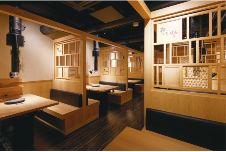 Thiết kế nhà hàng lẩu nướng phong cách Nhật Bản