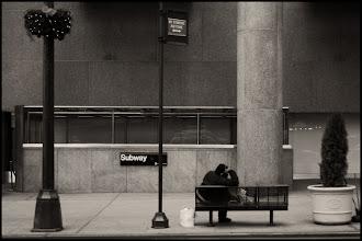 Photo: 42nd Street Bench - NYC