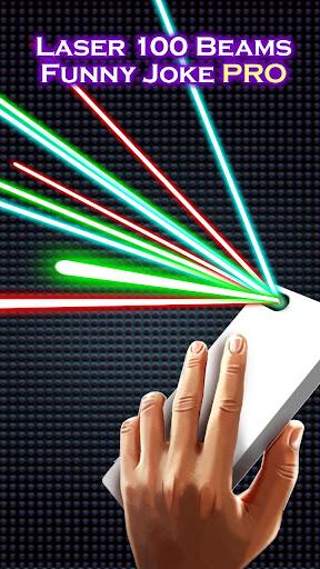 Laser 100 Beams Funny Joke PRO  screenshots 3