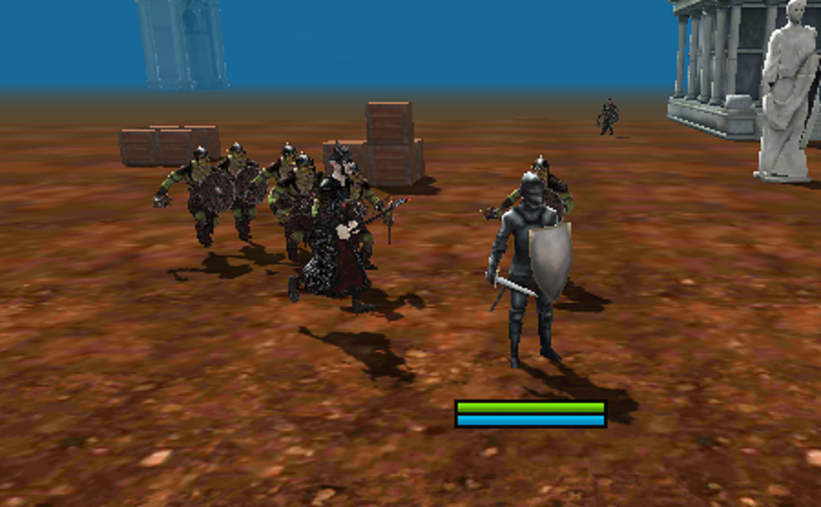 3D Knight Fighting Templar- screenshot