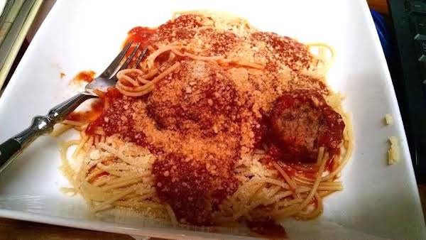 Ellen's Superb Italian Meatballs
