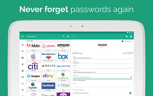 Password Boss Password Manager- screenshot thumbnail