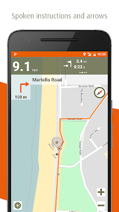 Naviki – the bicycle satnav- screenshot thumbnail