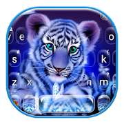 Tiger Night Keyboard Theme