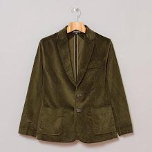Photo: http://www.oipolloi.com/fourth-and-main-oi-polloi-suit-jacket-dark-olive-cord