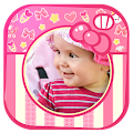 Cute Baby Girl Picture Frames