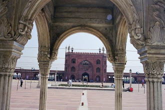 Photo: #009-La mosquée Jama Masjid-New Delhi