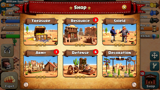 War Wild West apkmr screenshots 5
