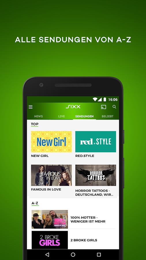 Sixx Tv App