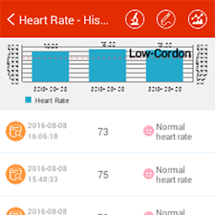 iCare Heart Rate Monitor- screenshot thumbnail