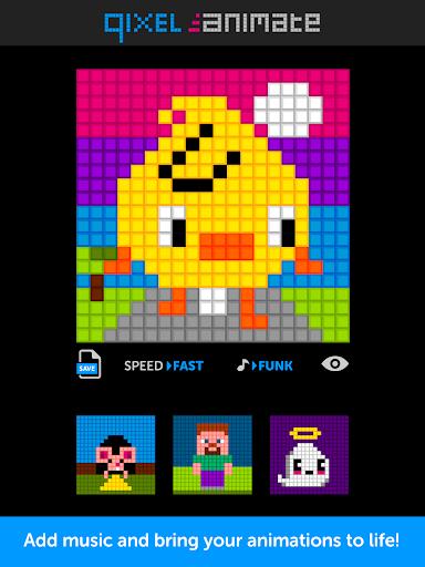 Qixel Animate - Pixel Animator  screenshots 1