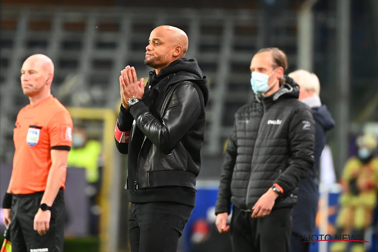 """Vincent Kompany est optimiste: """"On a progressé contre l'Antwerp, et on va continuer à le faire"""""""