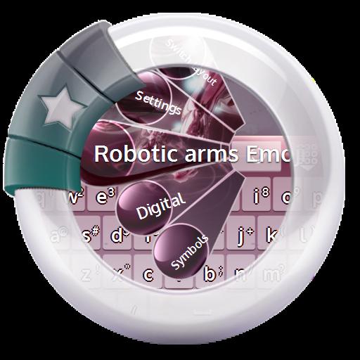 个人化のロボットアーム GO Keyboard LOGO-HotApp4Game