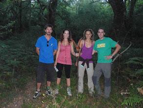 Photo: O grupo que encontrou a Roque