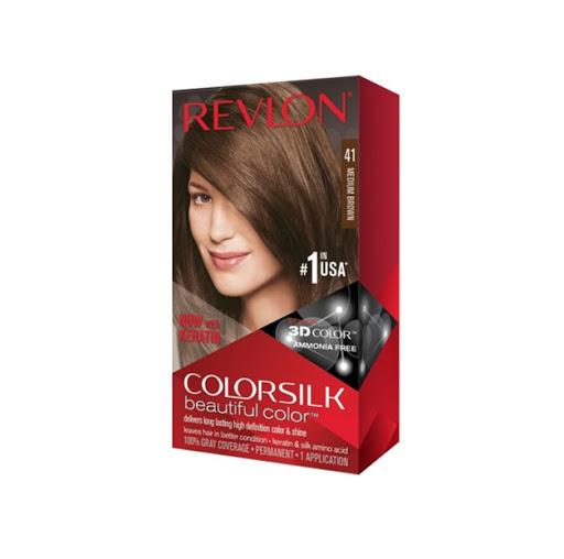 Tinte Revlon Colorsilk Kit 41 Castano Mediano  Tinte Revlon Castano Mediano