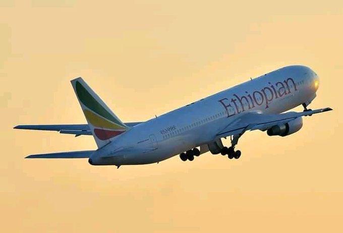 An Ethiopian Airlines plane. KQ