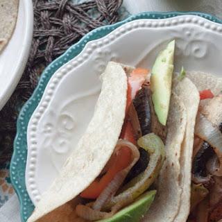 Vegetarian Portobello Fajitas