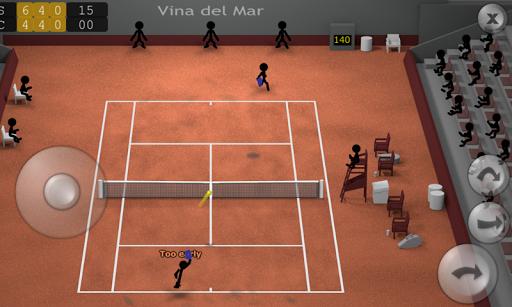 Stickman Tennis apkpoly screenshots 1