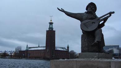 Photo: Evert Taube - žymiausias švedų muzikantas, švediškų baladžių atlikėjas.