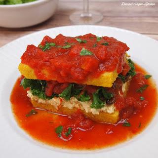 Vegan Polenta Lasagna.