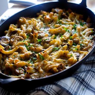 Mushroom Marsala Pasta Bake.